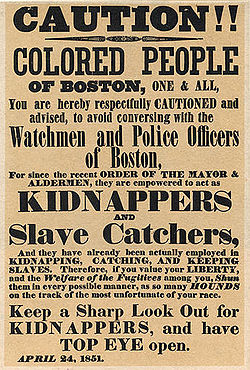 Fugitive Slave Act 250px-Slave_kidnap_post_1851_boston