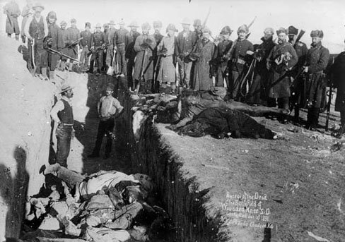Wounded Knee Massacre Big Ditch Mass Grave
