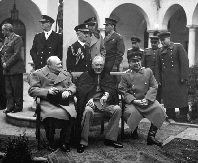 Yalta Conference1024px-Yalta_Conference_(Churchill,_Roosevelt,_Stalin)_(B&W)