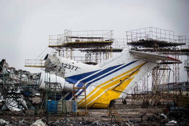 Ukraine airport until-recently-the-airport-was-controlled-by-ukrainian-troops-who-took-fire-and-shelling-from-rebel-troops-at-all-hours-of-the-day-and-night