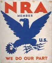 NRA Blue Eagle NewDealNRA